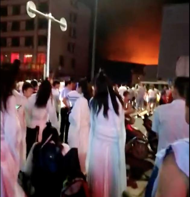 《陈情令》剧组火灾致2死 过火面积约300余平方米