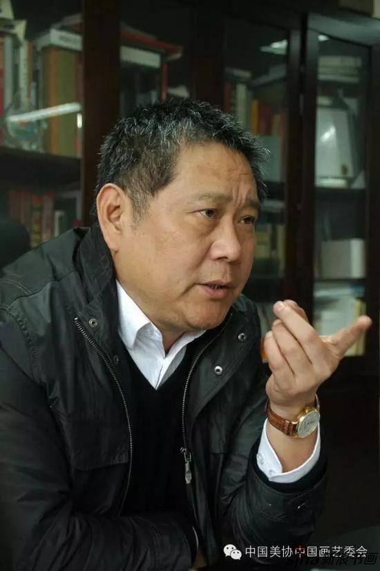 现为中国画学会副会长马国强作品赏析