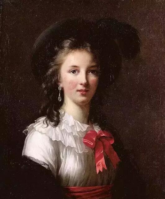 法国女神级画家维瑞·勒布伦:她笔下的女性肖像美轮美奂