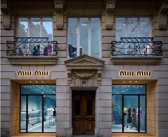 MIU MIU法国巴黎新店启幕