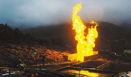中石化永川页岩气利用工程正式动工