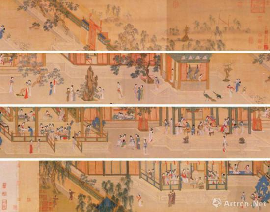 宋代佚名画作《汉宫秋图》赏析