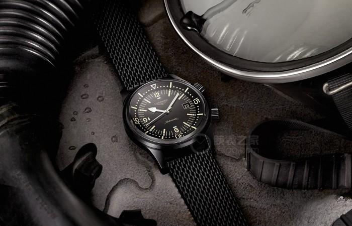 品鉴浪琴表经典复刻系列传奇潜水员腕表