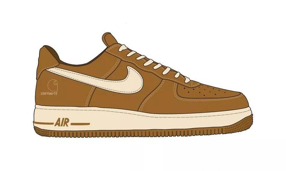 Carhartt WIP x Nike 联名 Air Force 1 系列将于 10 月发售