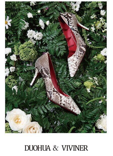 DUOHUA & VIVINER女鞋邀你共赴一场艺术之履