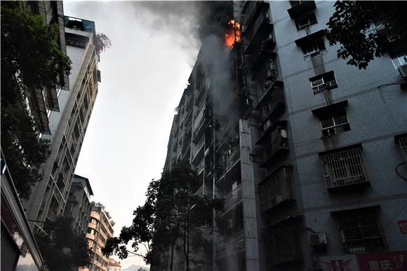重庆一宿舍楼起火 火灾没有造成人员死亡