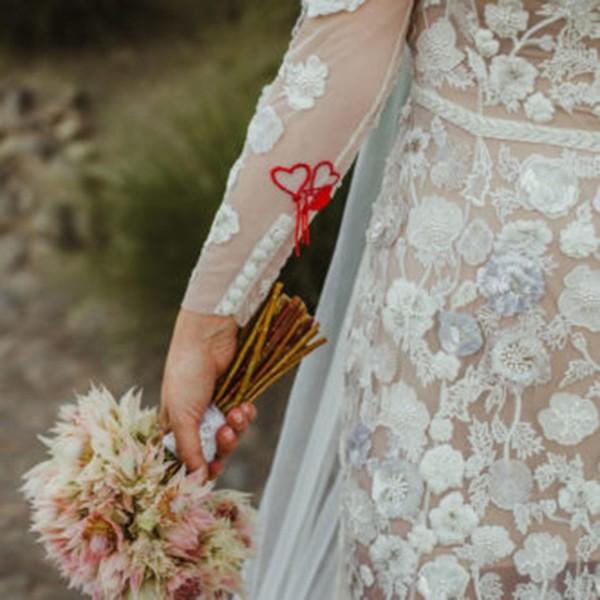 Hermione de Paula个人化刺绣婚纱 让新娘化身为优雅女神