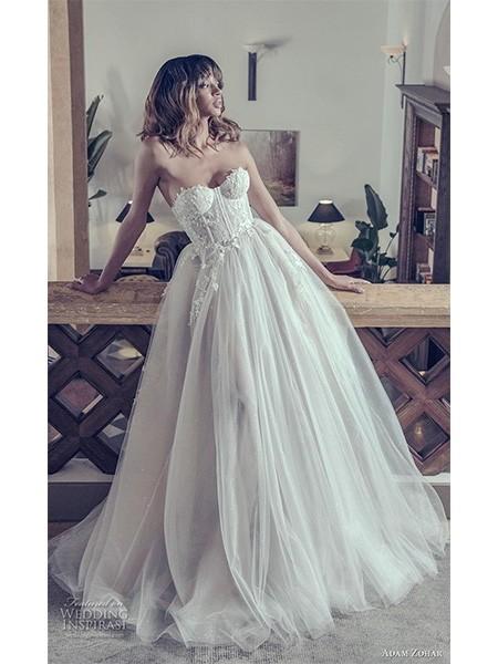 Adam Zohar 2019婚纱系列 现代优雅女性