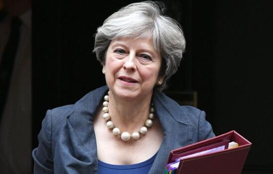 梅姨接受脱欧谈判 英镑大受鼓舞