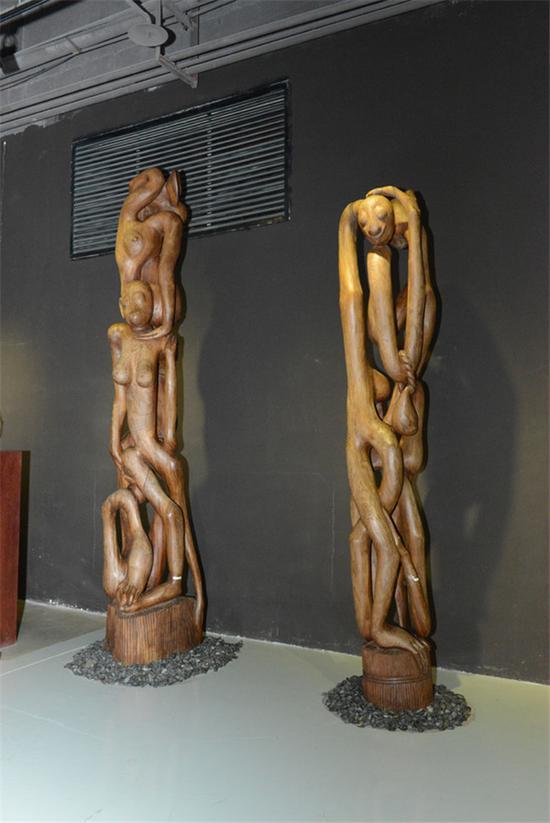 长春世界雕塑公园 让中外游客了解非洲文化