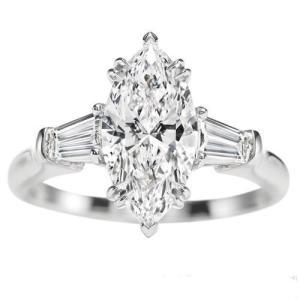 马眼钻石戒指