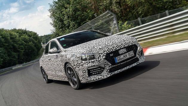现代i30 N Fastback或将于2018巴黎车展发布