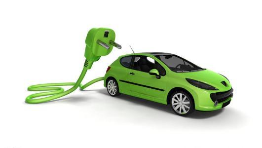 新能源汽车背景