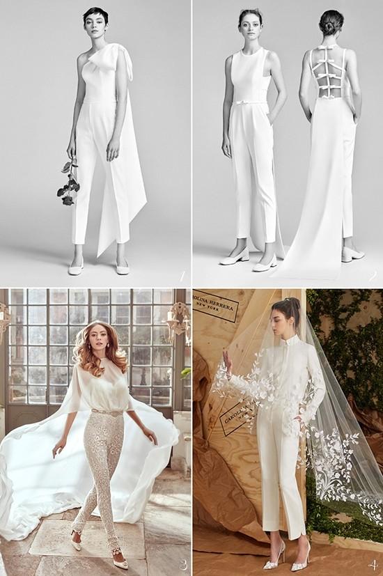 时尚个性婚纱礼服 展现新娘不一样的风采