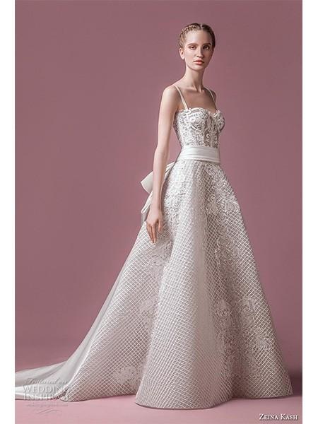 Zeina Kash 2018婚纱系列 现代浪漫风格