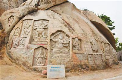 辽宁海棠山的摩崖石刻造像群 丝绸之路上的艺术明珠