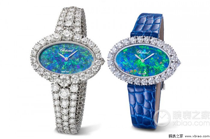 Chopard萧邦推出三款全新L'Heure du Diamant钻石腕表