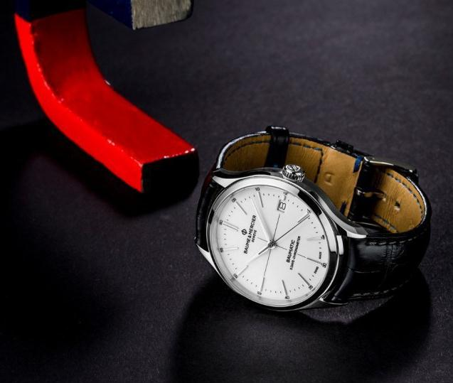 名士克里顿系列Baumatic™腕表 简洁儒雅与高性价比
