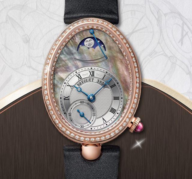 芳华绝代的珍品 宝玑那不勒斯皇后系列腕表