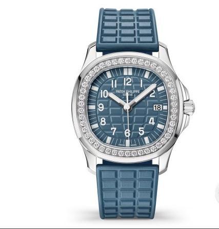 百达翡丽推出Misty Blue腕表