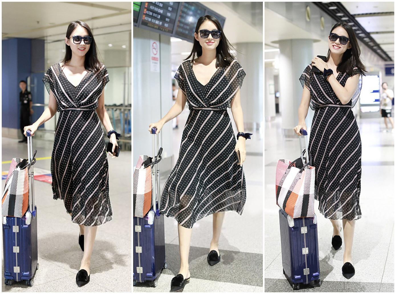 世界小姐张梓琳穿1400薄纱裙优雅又清新