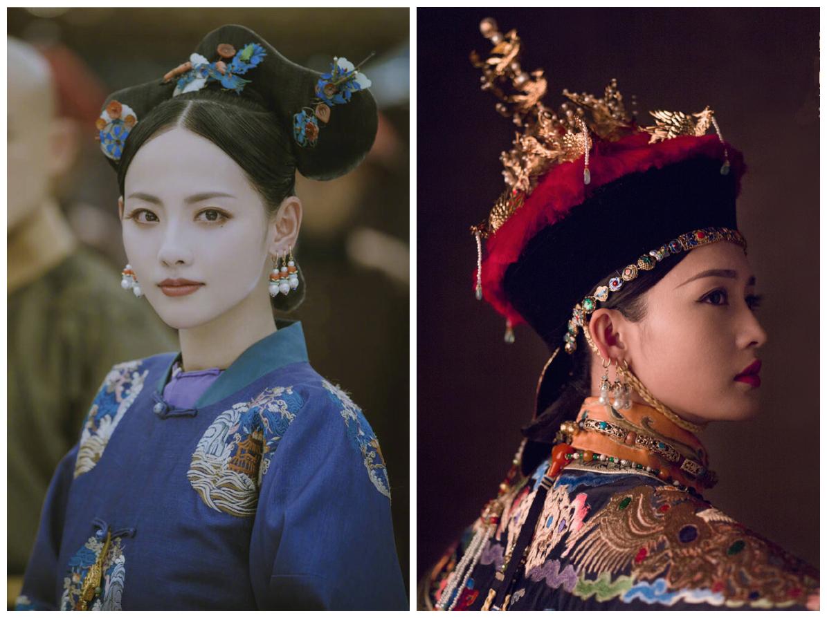 张嘉倪李沁同演香妃 只能靠现代装一较高下了