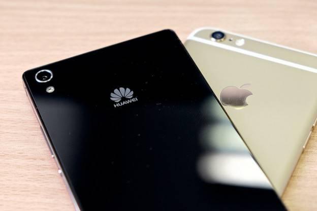 华为首次超越苹果 成为全球第二大智能手机厂商