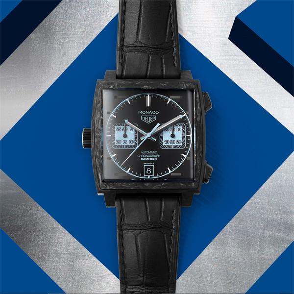 泰格豪雅摩纳哥系列Bamford腕表