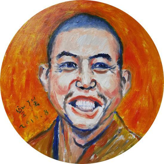 王圣强油画人物肖像赏析