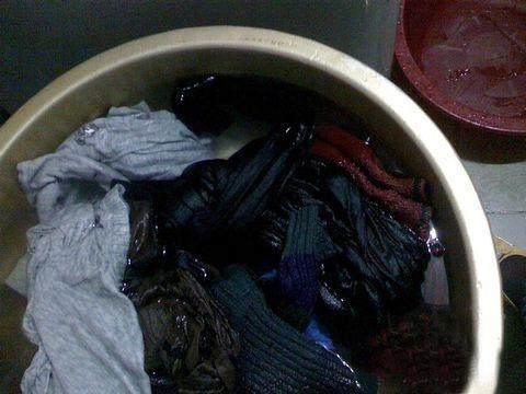 衣服放在洗衣机一夜