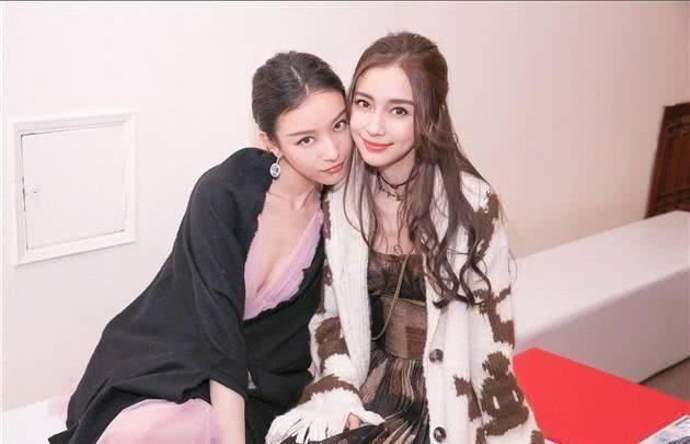 angelababy倪妮连续五年微博庆生 姐妹情深