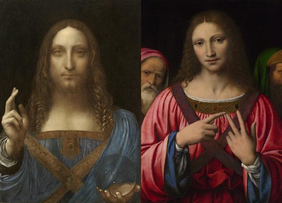 《救世主》是达芬奇工作室作品 达芬奇最多参与绘制5%至20%