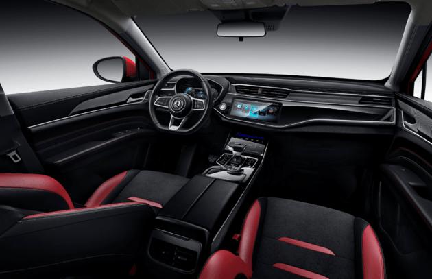 东风全新轿跑型SUV 风光ix5或将于10月上市