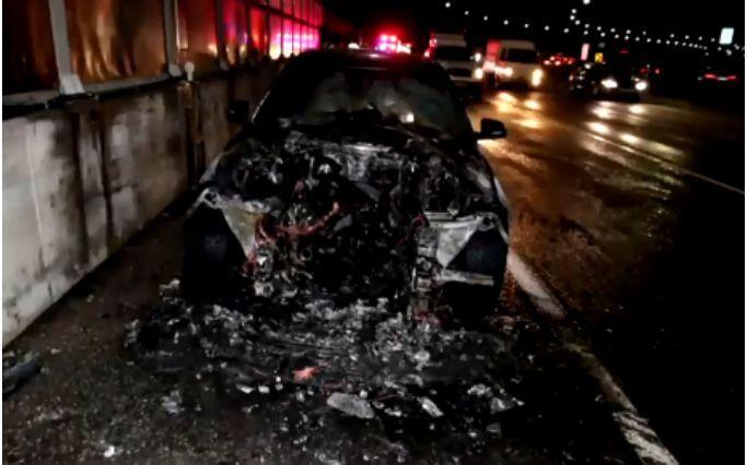 韩国起火宝马车 仅8月就有8辆在高速公路上起火