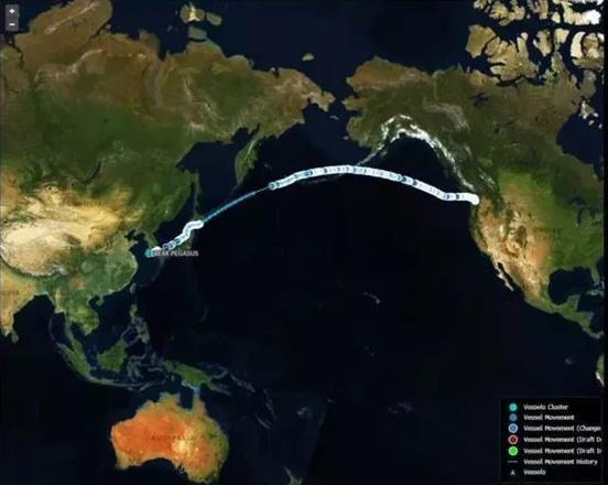 还记得那艘狂奔的美国大豆船吗?一个月了,还漂着绕圈呢……