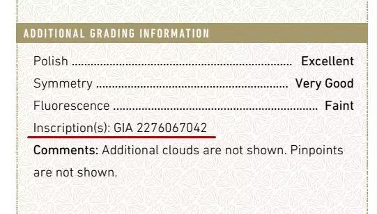 证书认证的钻石都有腰号吗?