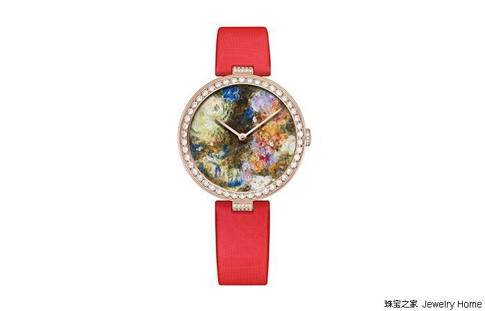 珠宝腕表是如何高度还原名画的?