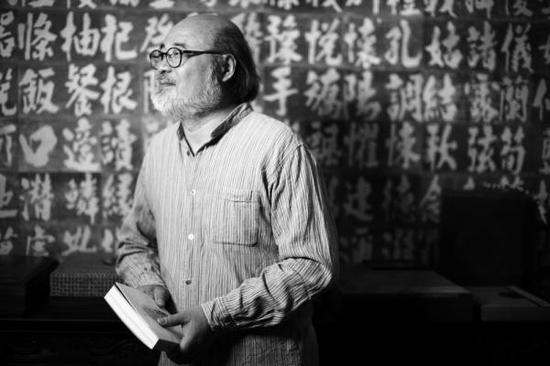 书籍设计家吕敬人:做书四十年 余生可能还做书