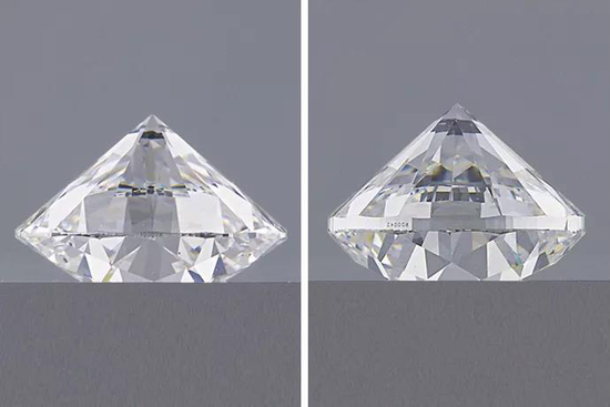 钻石越重就一定越大吗?
