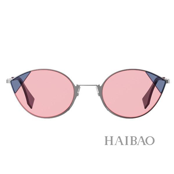 Fendi推出2018 CUT EYE系列太阳眼镜