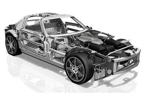 新能源汽车底盘结构