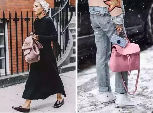 包包要这么搭配才够时尚!