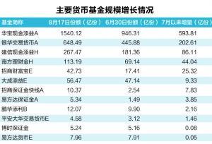 套利资金汹涌 场内货基规模暴增近千亿