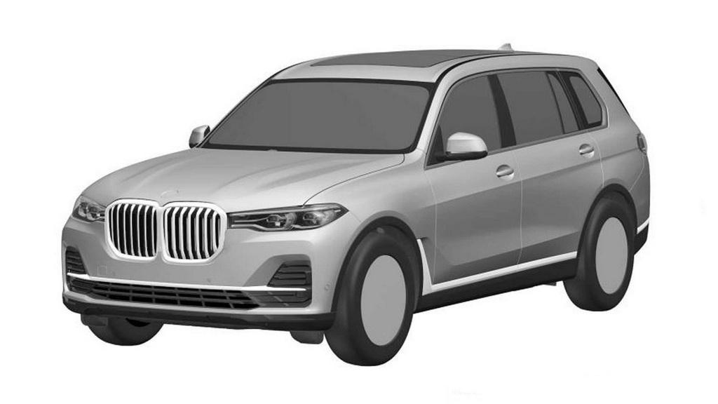宝马X7将于洛杉矶车展首发 预计2019年引入