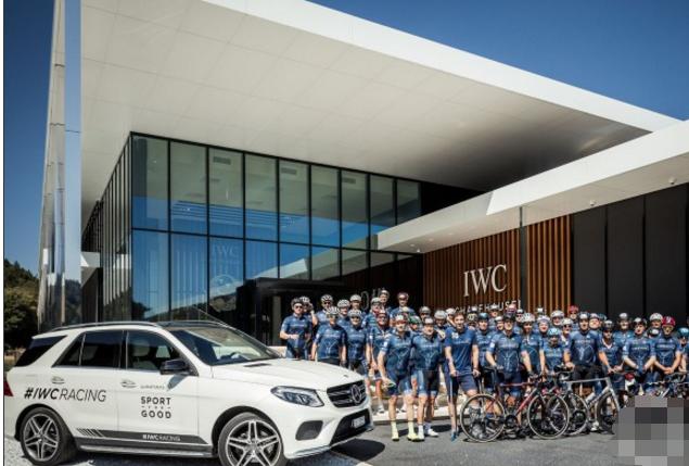 竞逐TORTOUR自行车赛 IWC万国表襄助瑞士劳伦斯基金会