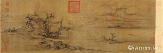 北宋郭熙《树色平远图》赏析