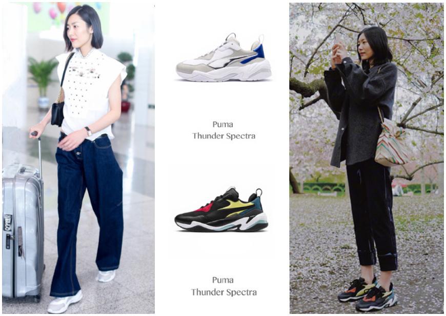 这双运动鞋售价不足1100 却让刘雯爱不释手 还一下备了两双