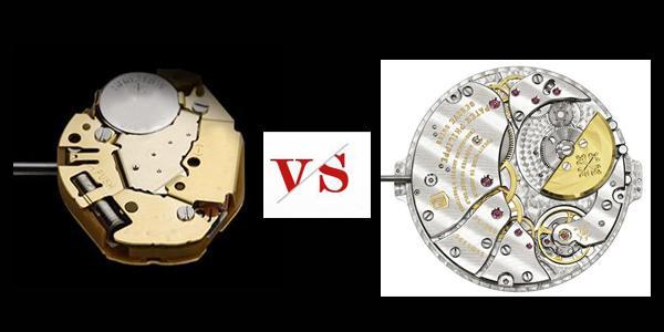 机械表和石英表的区别