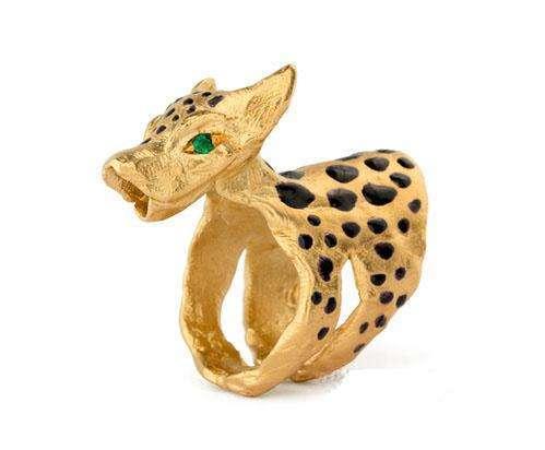 超自然力量珠宝?非洲部落风面具造型戒指