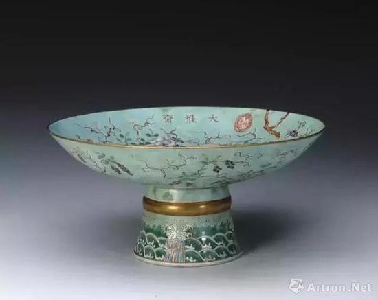 与慈禧太后关系密切的大雅斋的瓷器